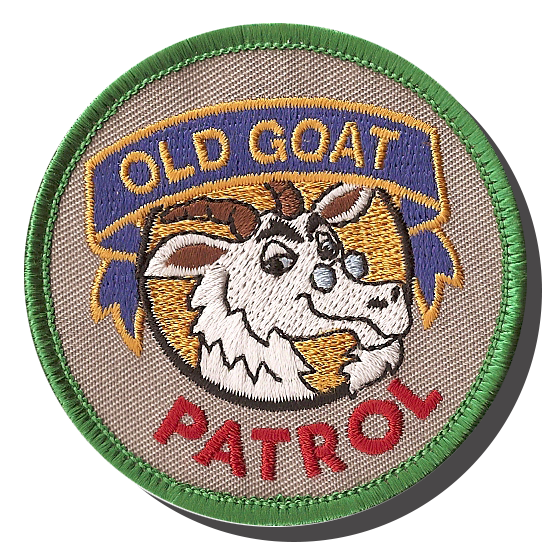 Old Goat Patrol Patch